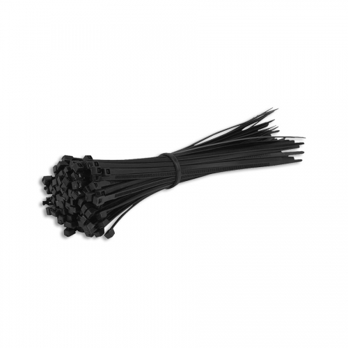 "50 Black 18"" Cable Ties"