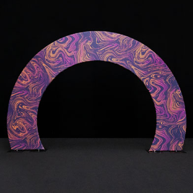 Printed Event Arches