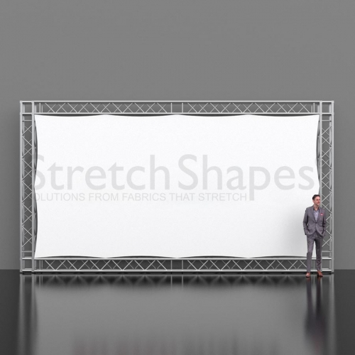 custom projection screen